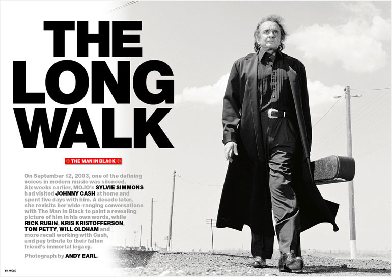 MOJO's Johnny Cash anniversary issue, 2013