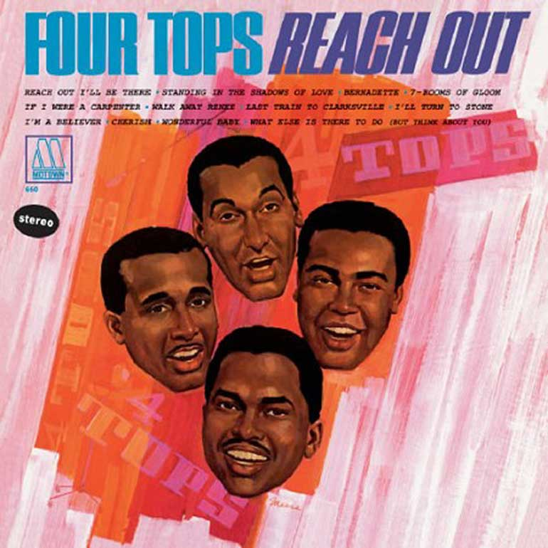 When the Four Tops were kings of the world.