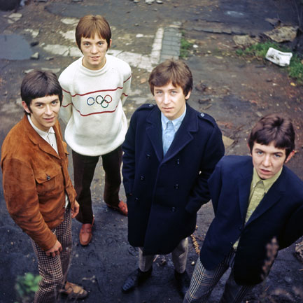 The Small Faces: (from left) Ian McLagan, Steve Marriott, Kenney Jones, Ronnie Lane. PHOTO: Alamy.