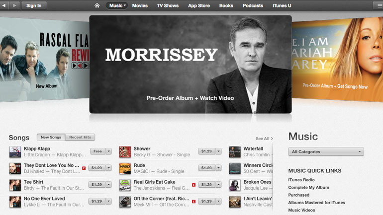 Morrissey: how to see his promo clip
