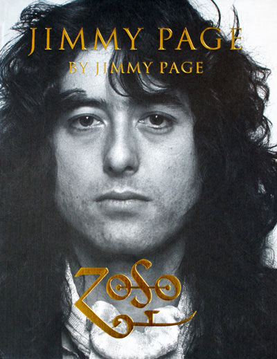 Jimmy Page by Jimmy Page. It's an – ahem – Page-turner.