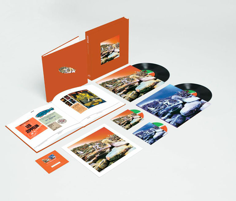Led Zeppelin Houses Of The Holy Super Deluxe Edition