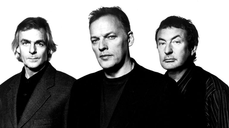 Pink Floyd in 1994: (from left) Rick Wright, David Gilmour, Nick Mason. Photo: Albert Watson