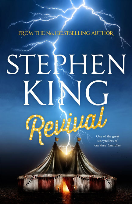 Stephen King's new novel: rock, religion and rum goings-on.
