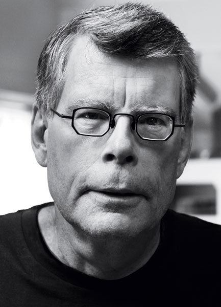 Stephen King by Shane Leonard. King knows his music, promises to shred your nerves.