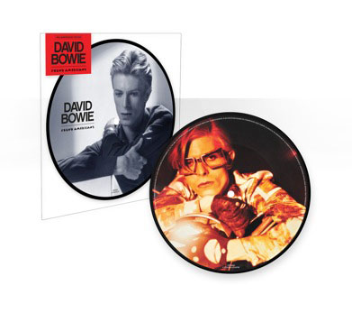 The Young Americans 40th anniversary picture disc.