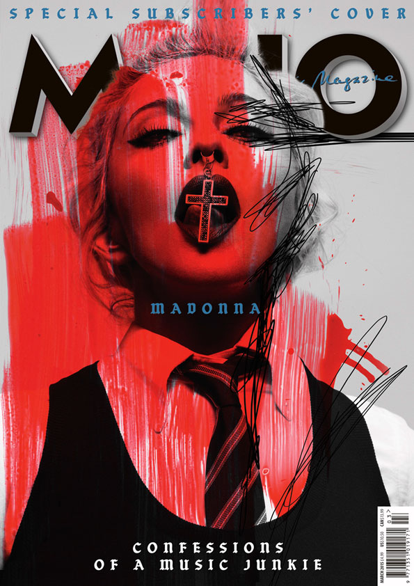 MOJO 256, featuring Madonna: the Special Subscribers' Cover.