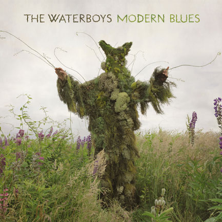The cover of The Waterboys' <em>Modern Blues</em>, released on Monday, January 19.