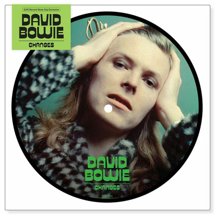 The Changes picture disc, photo by Brian Ward.