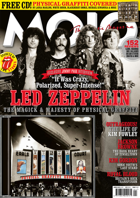 MOJO 257, featuring Jackson Browne, Led Zeppelin, The Rolling Stones and more. On sale now.