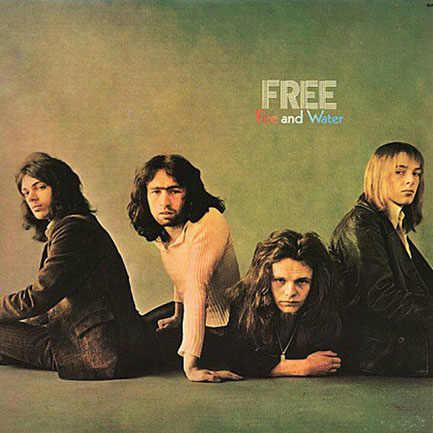 Free's classic third album, <em>Fire And Water</em> (1970). From left: Andy Fraser, Paul Rodgers, Paul Kossoff, Simon Kirke.