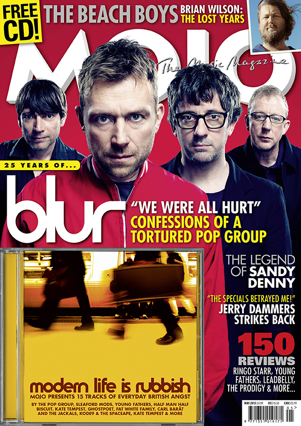 MOJO 258, with Blur cover, available in the UK from Tuesday, March 31.