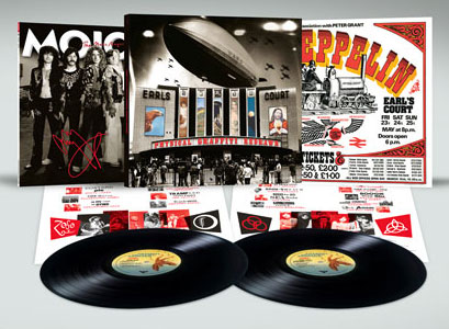 MOJO's Led Zeppelin Limited Vinyl Edition, including <em>Physical Graffiti Redrawn</em> on double vinyl.