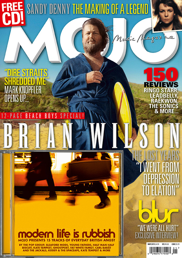 The Beach Boys are on the cover of the US edition of MOJO 258, on sale in North America now.