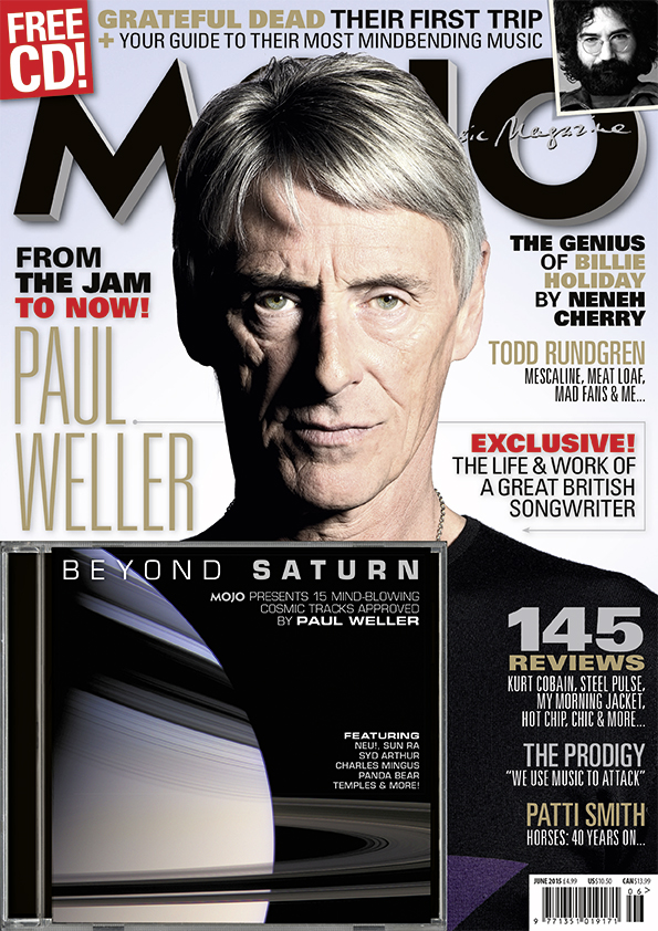 MOJO 259, with Paul Weller on the cover, available in the UK from Tuesday, April 28.