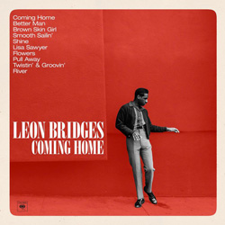 The cover of Leon Bridges' debut album, <em>Coming Home</em>.