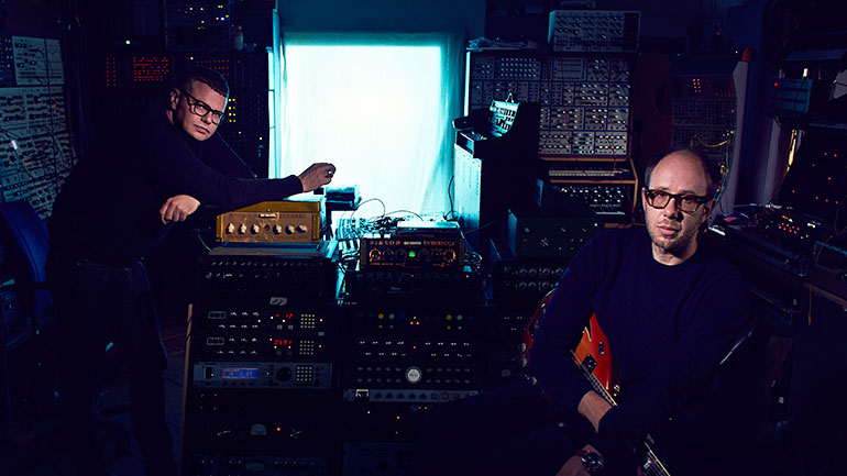 The Chemical Brothers: (from left) Ed Simons, Tom Rowlands.