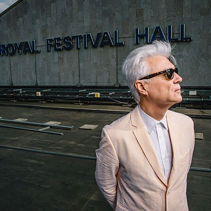 2015 Meltdown curator David Byrne.