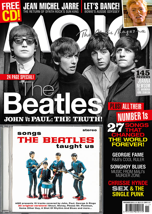 The cover of MOJO 264, on sale from September 29, 2015.