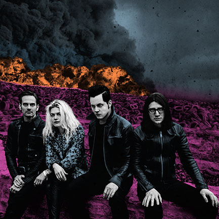 The Dead Weather's <em>Dodge And Burn</em> album, out September 25.