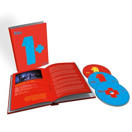 One of the packages for the new Beatles <em>1+</em>.