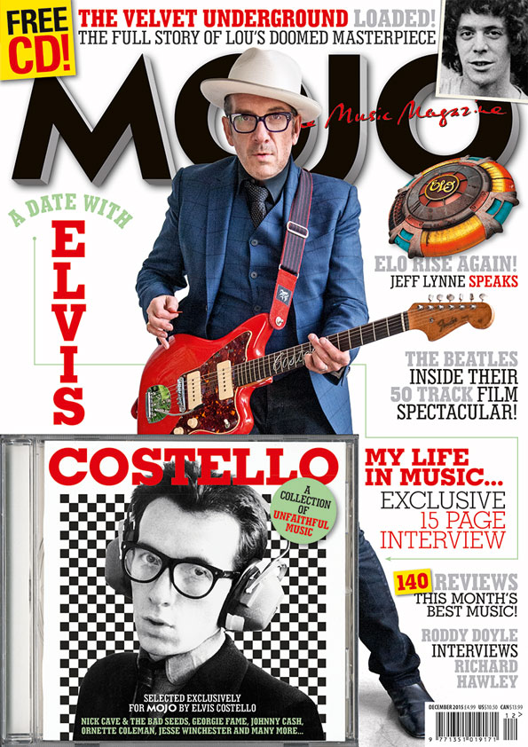 The cover of MOJO 265, on sale in the UK from October 27.