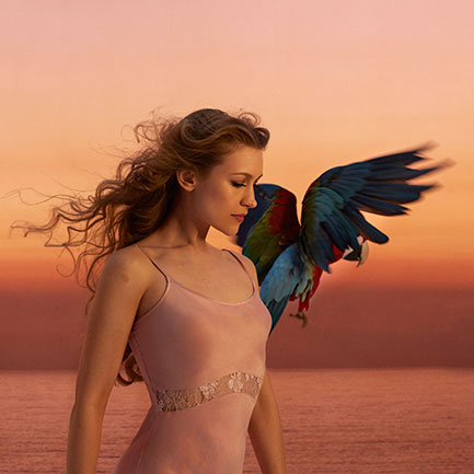 Joanna Newsom photographed by Annabel Mehran.