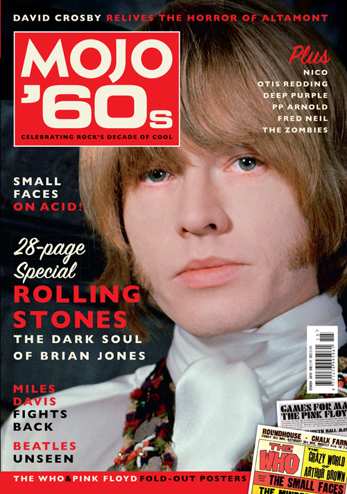 Brian Jones stars on the cover of the new MOJO '60s.