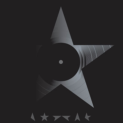 David Bowie's ★ diecut vinyl package: yum!