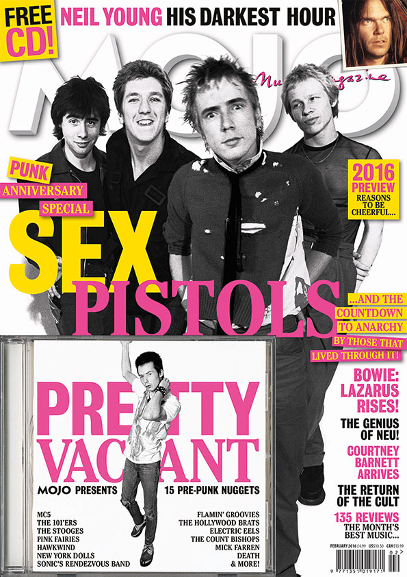 MOJO 267, on sale in the UK from Tuesday, December 29. It's pretty punk rock.