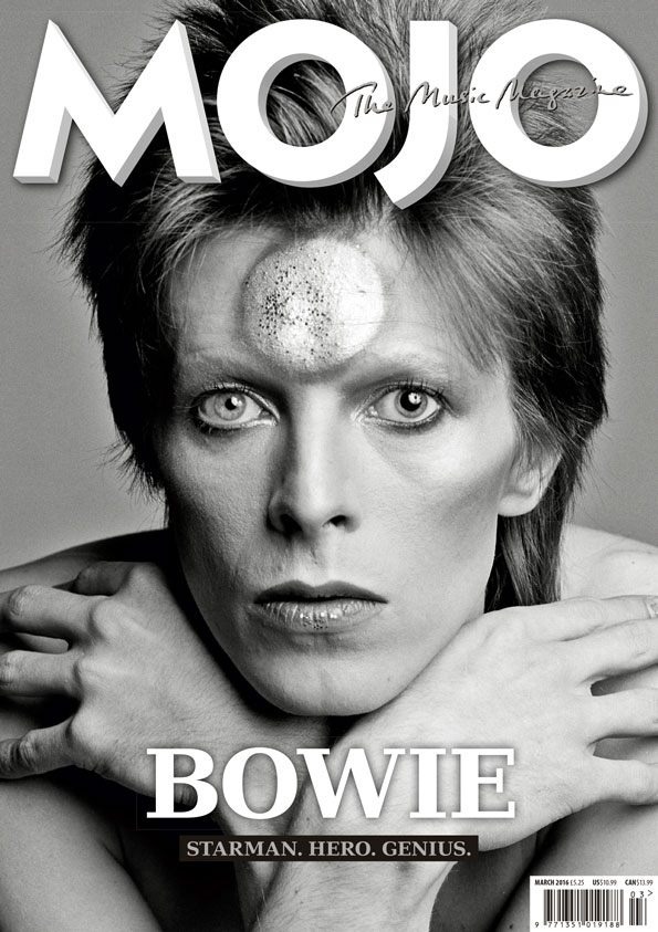 The cover of MOJO #268, on sale in the UK now.