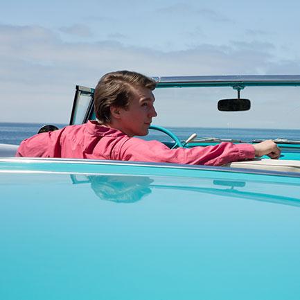 This car of mine: Paul Dano as Beach Boy Brian Wilson in Love & Mercy.