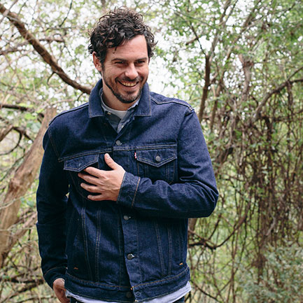 Rock'n'roll sightseer: White Denim's James Petralli.