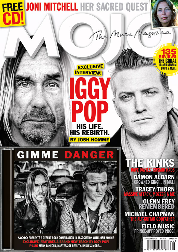The cover of MOJO 269 on sale in the UK from Tuesday February 23, 2016.