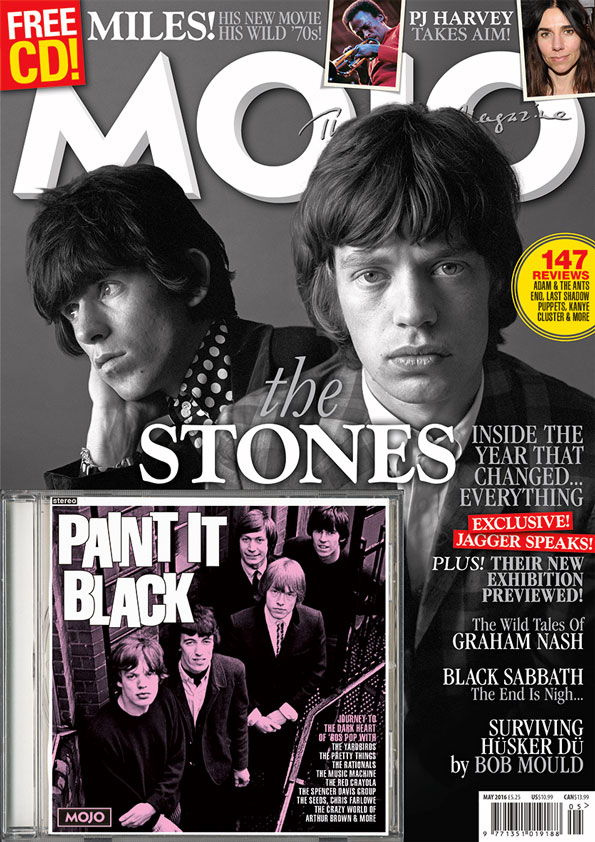 The Rolling Stones on the cover of MOJO 270, on sale in the UK from March 22.