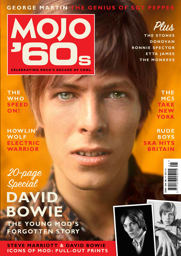 MOJO '60s, Vol 5. On sale in the UK from April 5, 2016.