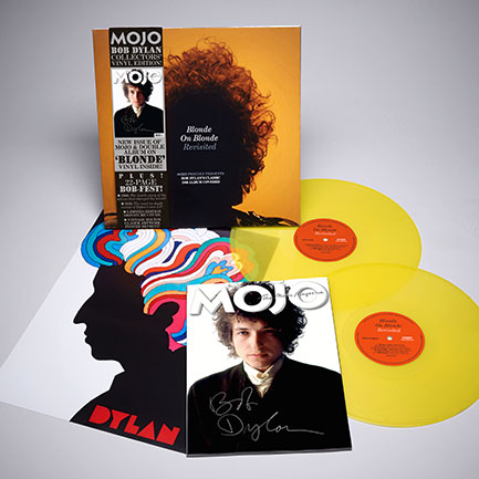 MOJO Bob Dylan Limited Vinyl Edition exploded pack shot.
