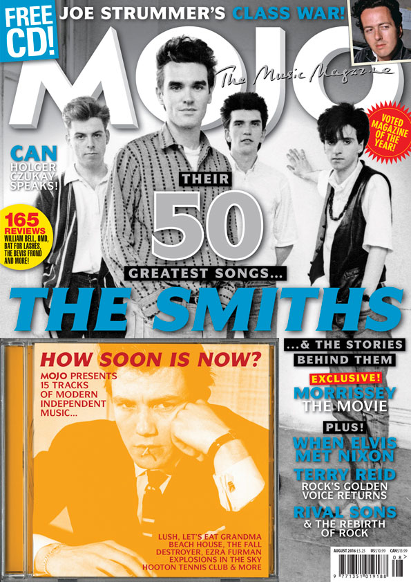MOJO 273, on sale in the UK from June 28. Stars The Smiths, Joe Strummer and 15-track CD of the best new independent music.