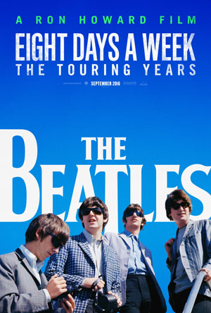 The poster for The Beatles new tour doc.