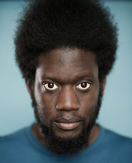 Michael Kiwanuka: approachably troubled.