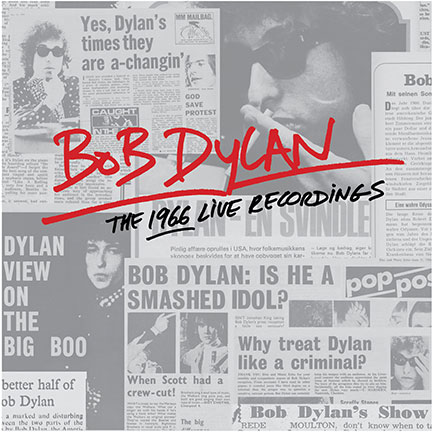 <em>Bob Dylan: The 1966 Live Recordings</em>. Apparently it really does look like this.