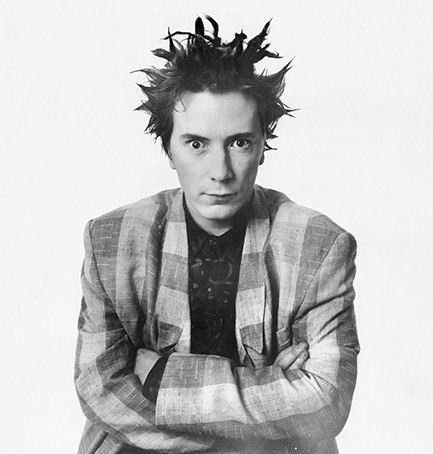 """When you connect with people's eyes, Oh, the energy that can give you!"" John Lydon in the '80s."