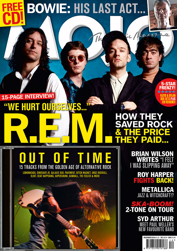 R.E.M. on the cover of MOJO 277. File under Much Missed.