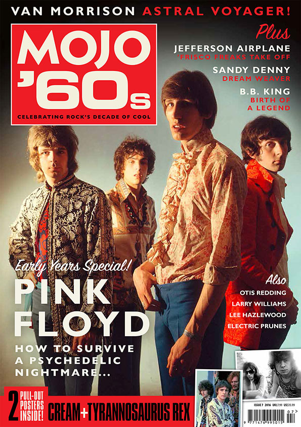 The cover of MOJO '60s Volume 7, featuring Pink Floyd. Careful with that spliff, Eugene!