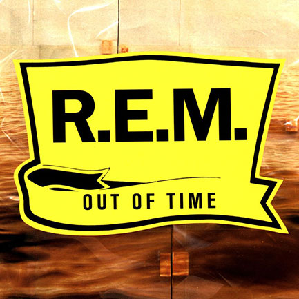 R.E.M.'s seventh studio album. Were they Out Of Time on the artwork?