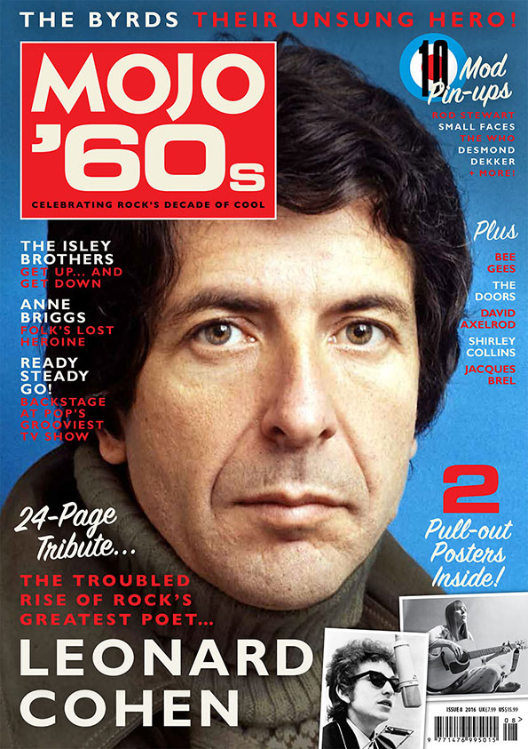 MOJO '60s, Volume 8, featuring Andrew Male's definitive Axelrod interview.