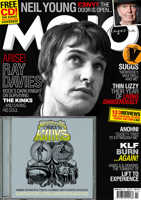 MOJO 280, featuring career-spanning, in-depth Ray Davies interview.