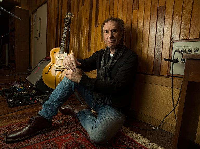 Ray Davies, alive and well in 2016, photographed for MOJO by Tom Oldham.