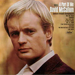 David McCallum, The Man From U.N.K.L.E. His albums with Axelrod bewitched that other man from U.N.K.L.E., James Lavelle.