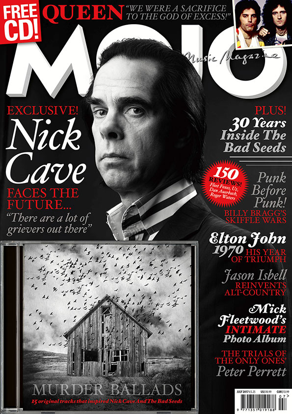 MOJO 284: Brian May on Queen; Nick Cave on everything; 15-track free covermount Murder Ballads CD.
